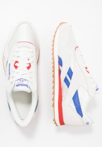 Reebok Classic - CL RIPPLE - Baskets basses - chalk/white/red