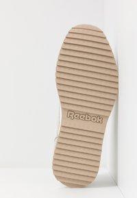 Reebok Classic - RIPPLE TRAIL - Sneakersy niskie - white/lemon glow/toxic yellow - 4