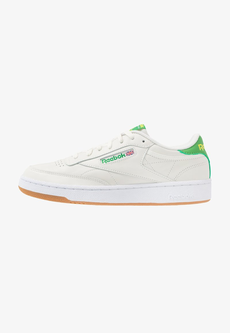 Reebok Classic - CLUB C 85 - Zapatillas - chalk/yellow/white