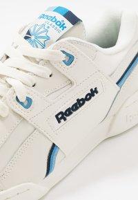 Reebok Classic - WORKOUT PLUS  - Sneakers - chalk/collegiate navy/cyan - 5
