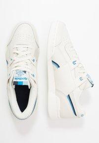 Reebok Classic - WORKOUT PLUS  - Sneakers - chalk/collegiate navy/cyan - 1
