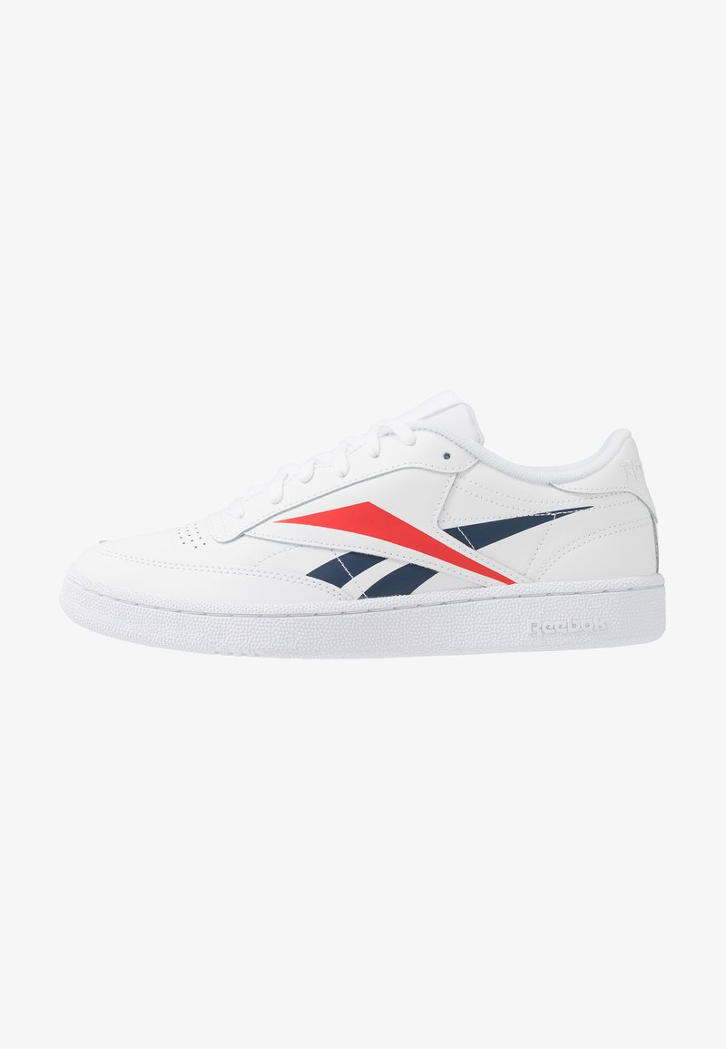Reebok Classic - CLUB C 85 - Zapatillas - white/collegiate navy/scarlet