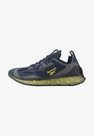 ZIG KINETICA CONCEPT TYPE2 - Sneakers laag - navy/hero yellow/cold grey