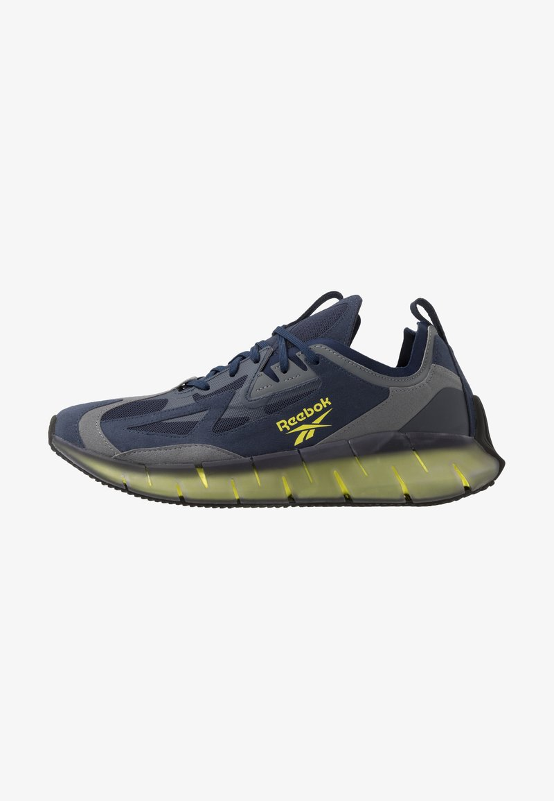 Reebok Classic - ZIG KINETICA CONCEPT TYPE2 - Sneakers laag - navy/hero yellow/cold grey