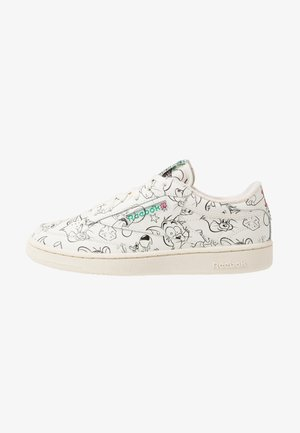 TOM & JERRY CLUB C 85 - Sneakersy niskie - chalk/paper white/red