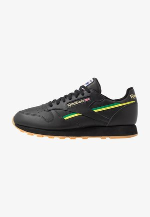 Sneakers laag - black/baseball green/hero yellow