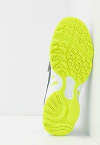 Reebok Classic - DMX SERIES 2200 - Sneakersy niskie - white/true grey/solar yellow - 4