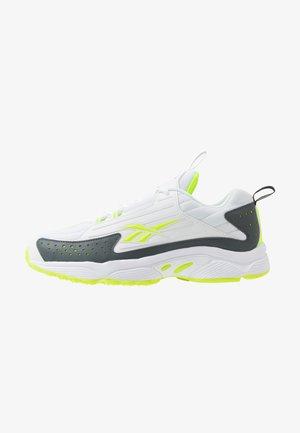 DMX SERIES 2200 - Sneakersy niskie - white/true grey/solar yellow