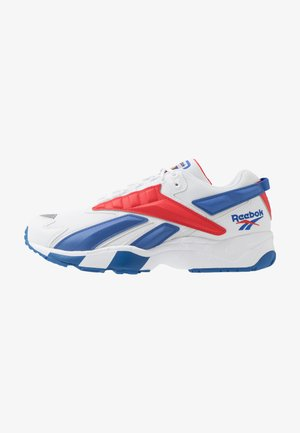 INTV 96 SHOES - Sneakersy niskie - white/blue blast/radiant red
