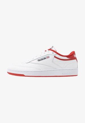 CLUB C 85 - Zapatillas - white/legend active red/black