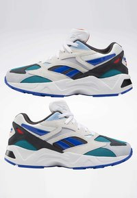 Reebok Classic - AZTREK 96 SHOES - Sneakers laag - white - 6