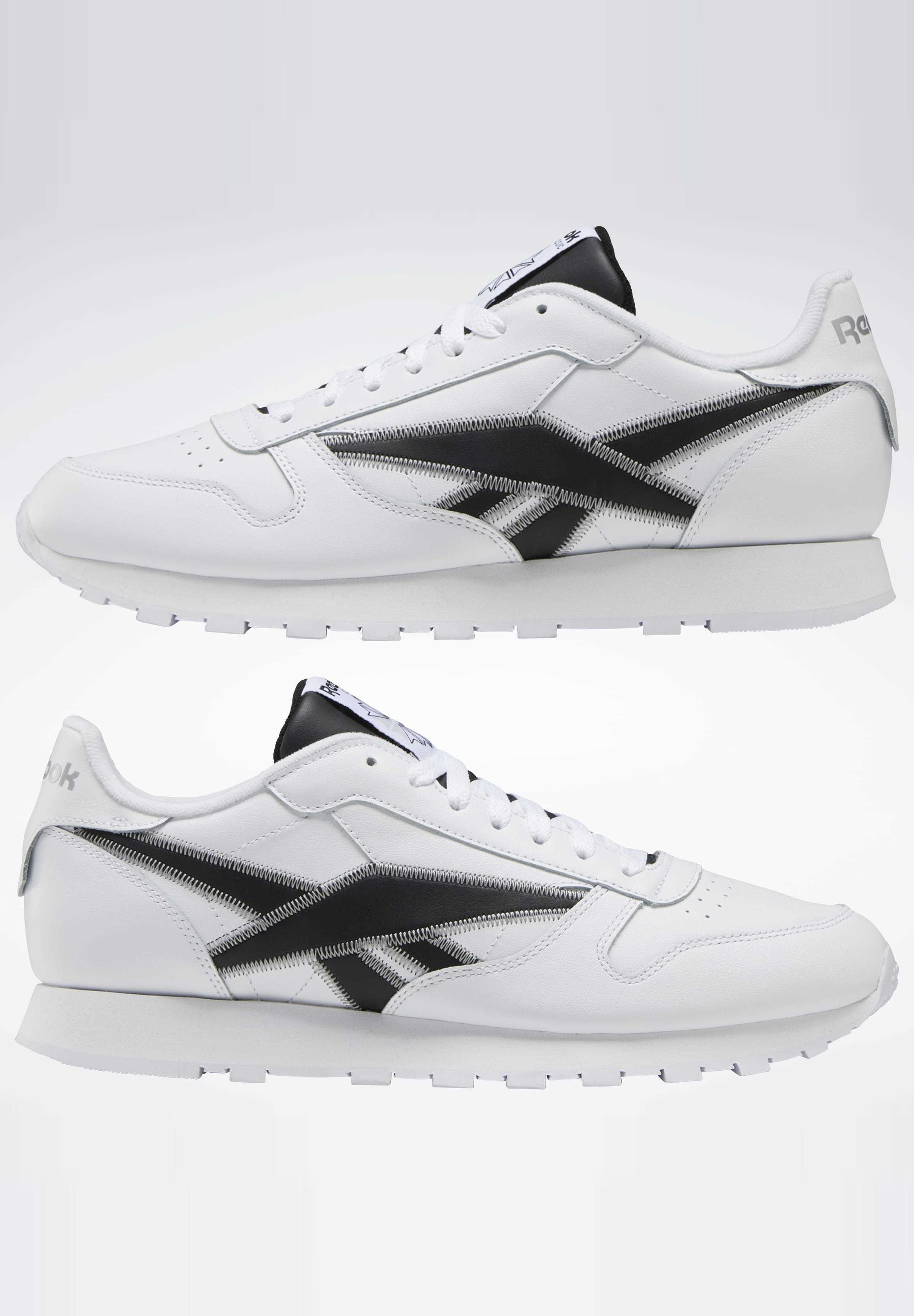 Geringster Preis Reebok Classic CLASSIC LEATHER SHOES - Sneaker low - white | Damenbekleidung 2020