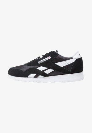 CL NYLON - Sneaker low - black/white