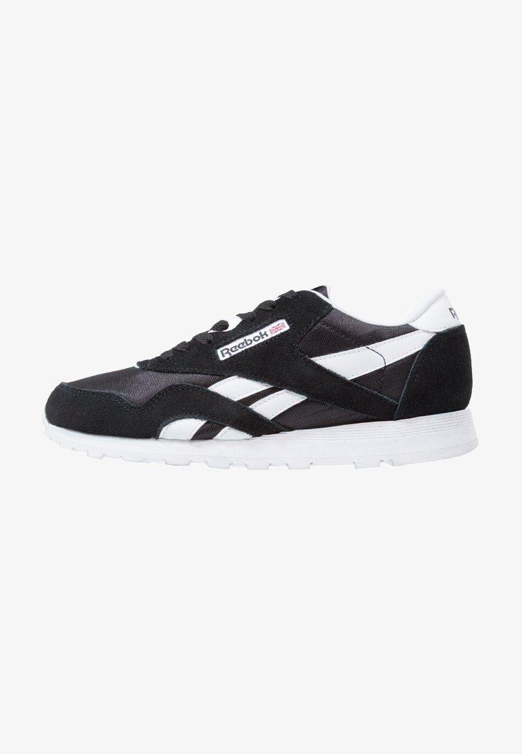 Reebok Classic - CL NYLON - Sneaker low - black/white