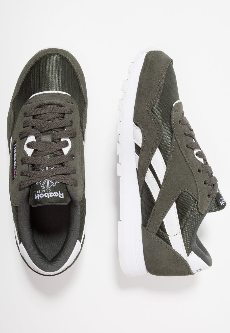 Reebok Classic - CL NYLON - Sneaker low - dark cypress/white