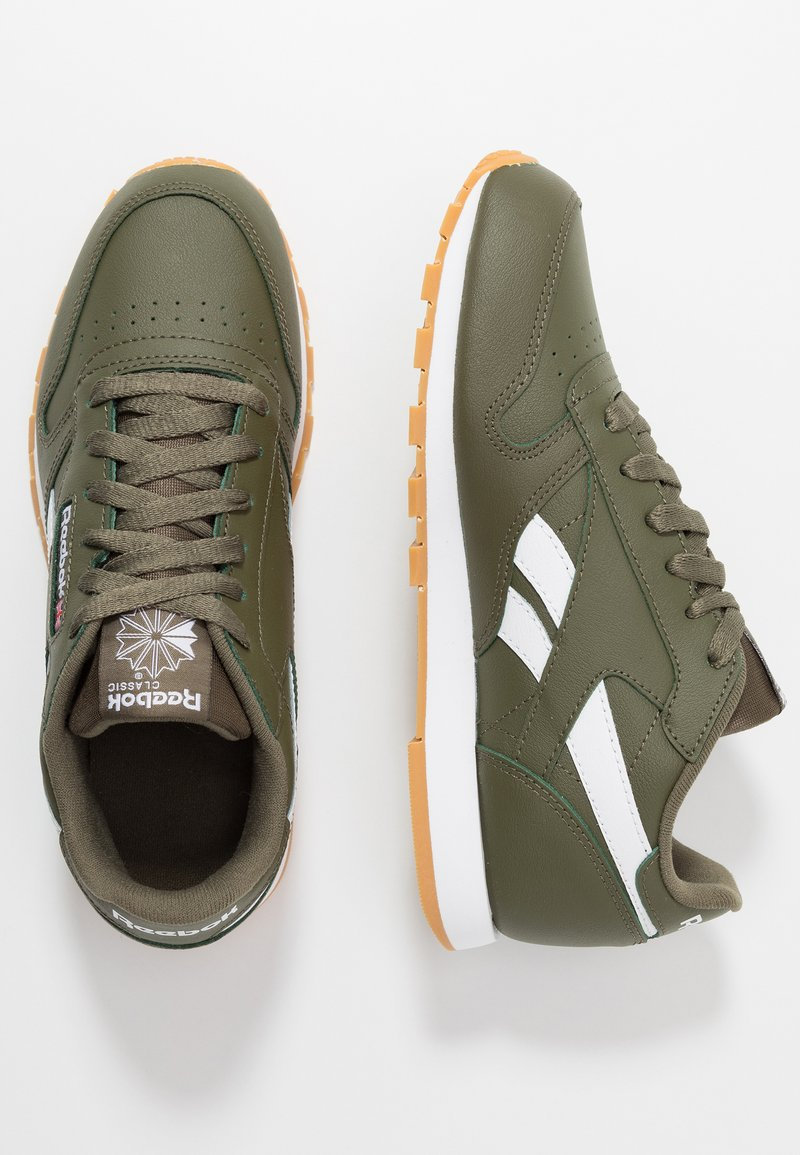 Reebok Classic - CLASSIC - Sneakers basse - army green/white
