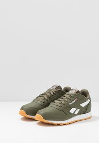 Reebok Classic - CLASSIC - Sneakers basse - army green/white - 3