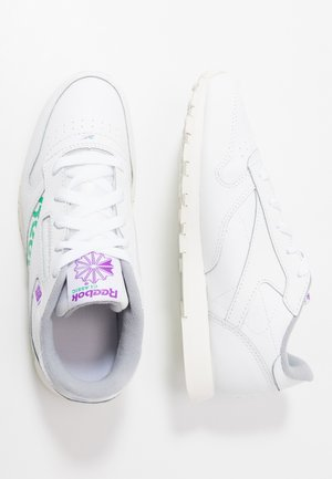 CLASSIC - Joggesko - white/emerald/grape