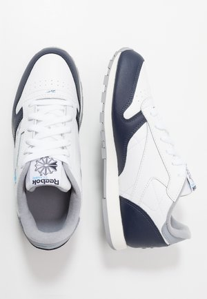 CLASSIC - Sneakers laag - white/navy/cyan/chalk