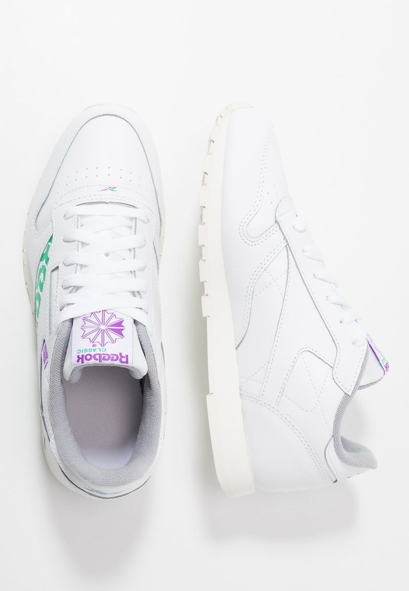 Reebok Classic - CLASSIC - Tenisky - white/emerald/grape