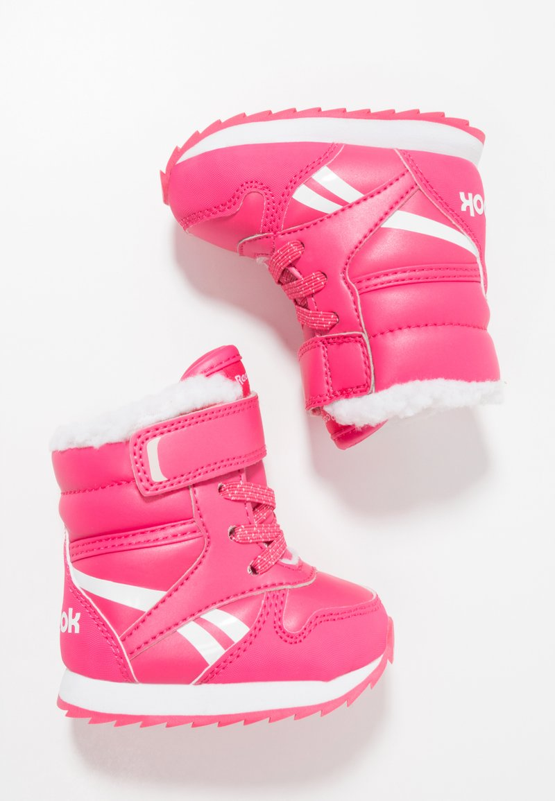 Reebok Classic - SNOW JOGGER - Snowboot/Winterstiefel - twisted pink/white