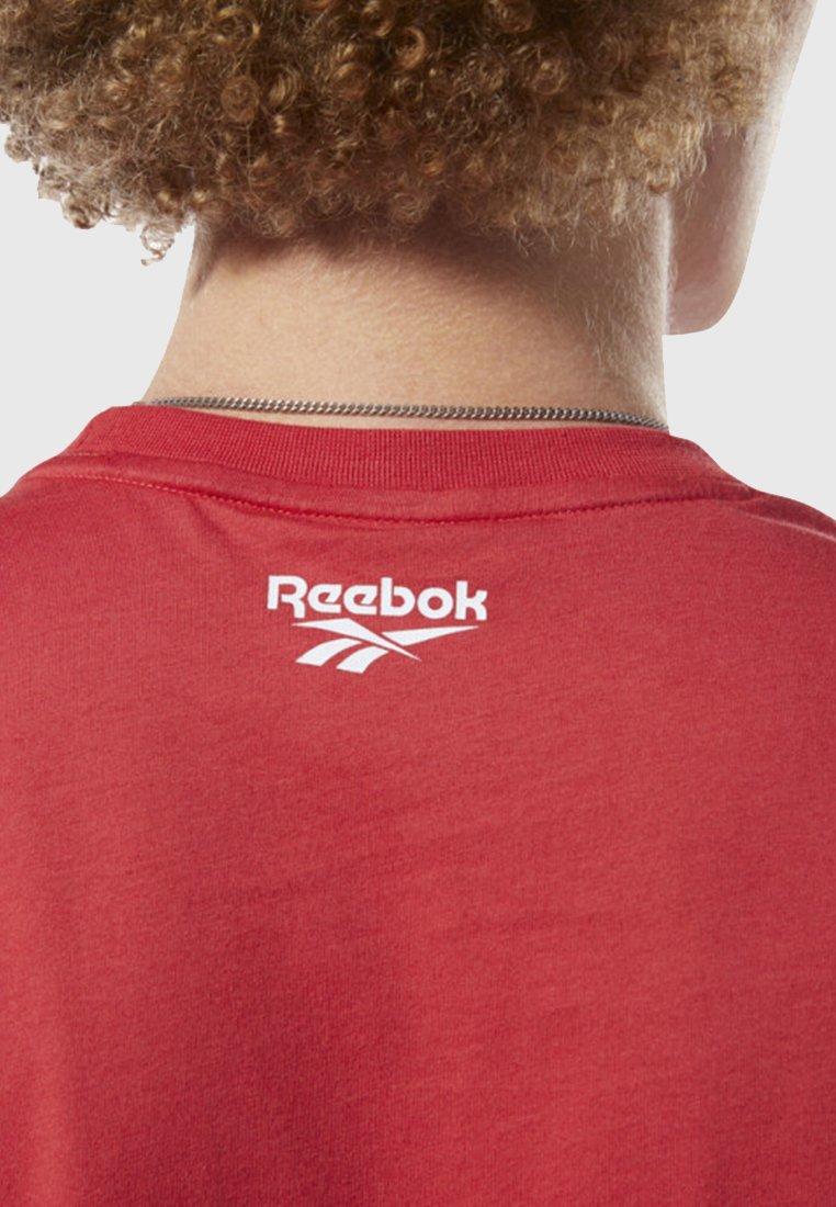 Reebok Classic CLASSICS INTERNATIONAL PIZZA TEE - T-shirts med print - red