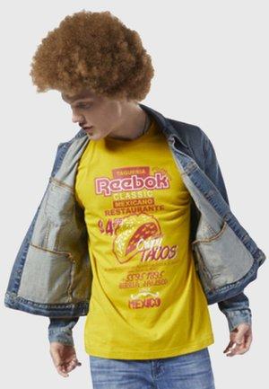 CLASSICS INTERNATIONAL TACOS TEE - Print T-shirt - yellow