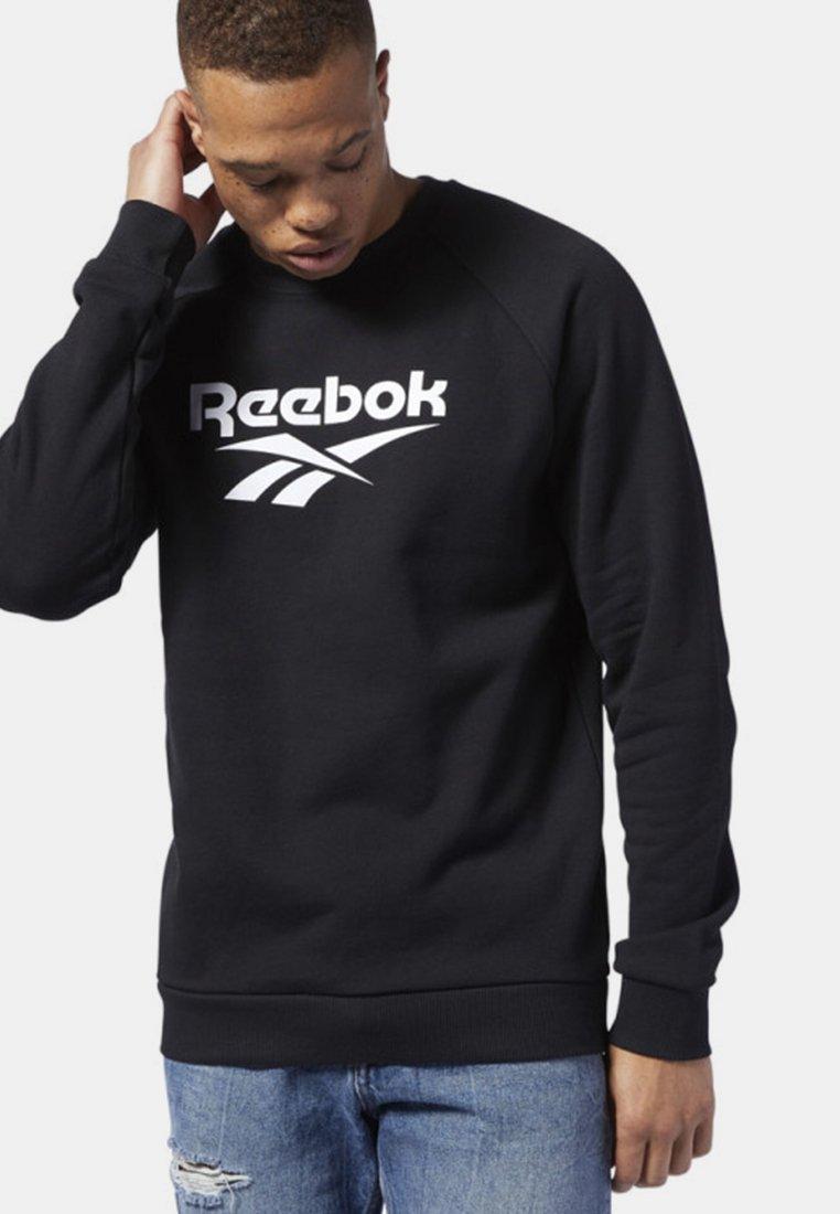 Reebok Classic - CLASSICS VECTOR CREW SWEATSHIRT - Sweatshirt - black