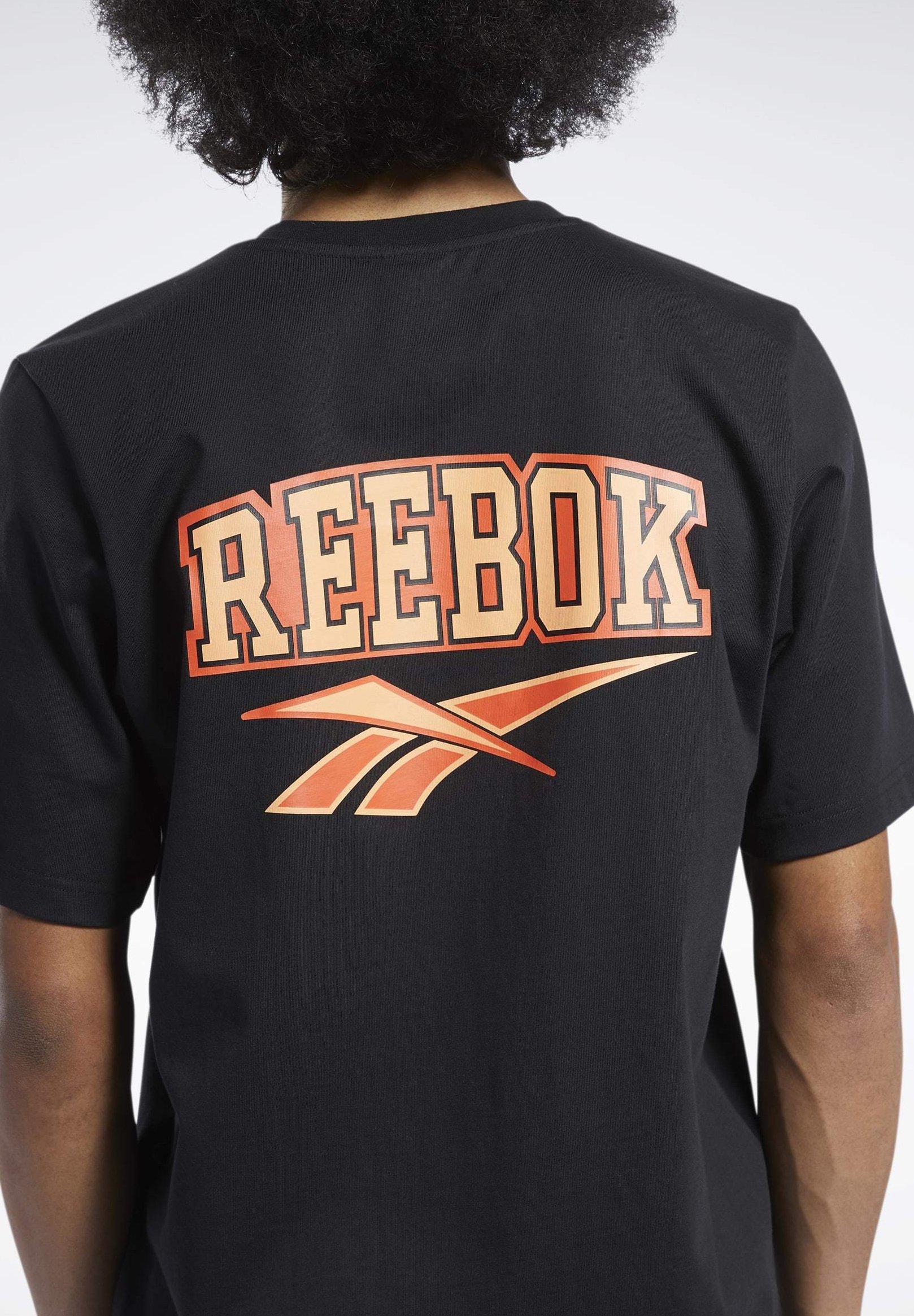 Reebok Classics Basketball T Shirt Schwarz   Reebok