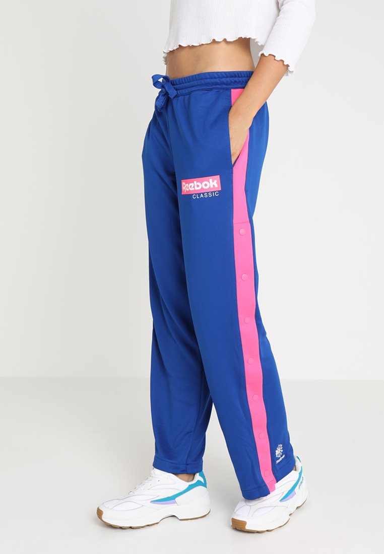 Reebok Classic - SNAP TRACKPANTS - Tracksuit bottoms - collegiate royal
