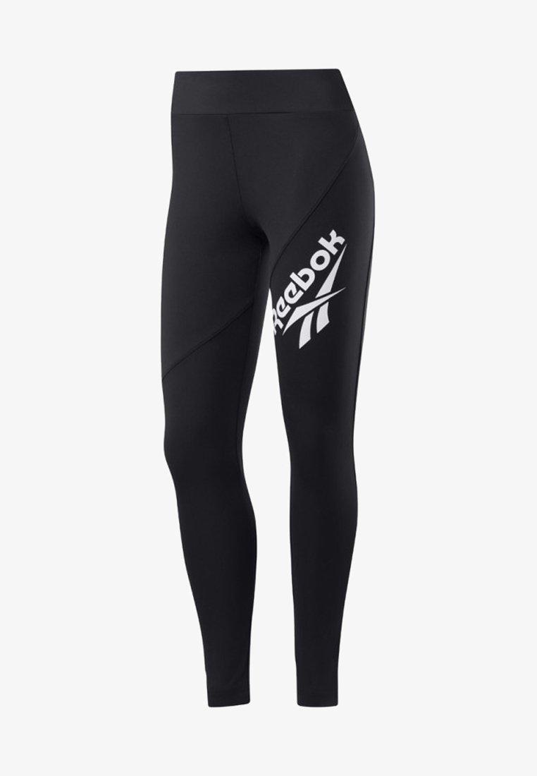 Reebok Classic - CLASSICS VECTOR LEGGINGS - Leggings - black