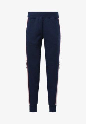 CLASSICS LINEAR FLEECE PANTS - Pantaloni sportivi - blue