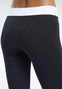 Reebok Classic - CLASSICS LINEAR LEGGINGS - Leggings - Trousers - black - 3