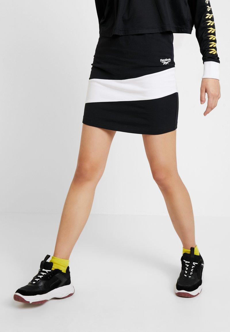 Reebok Classic - SKIRT - Mini skirt - black