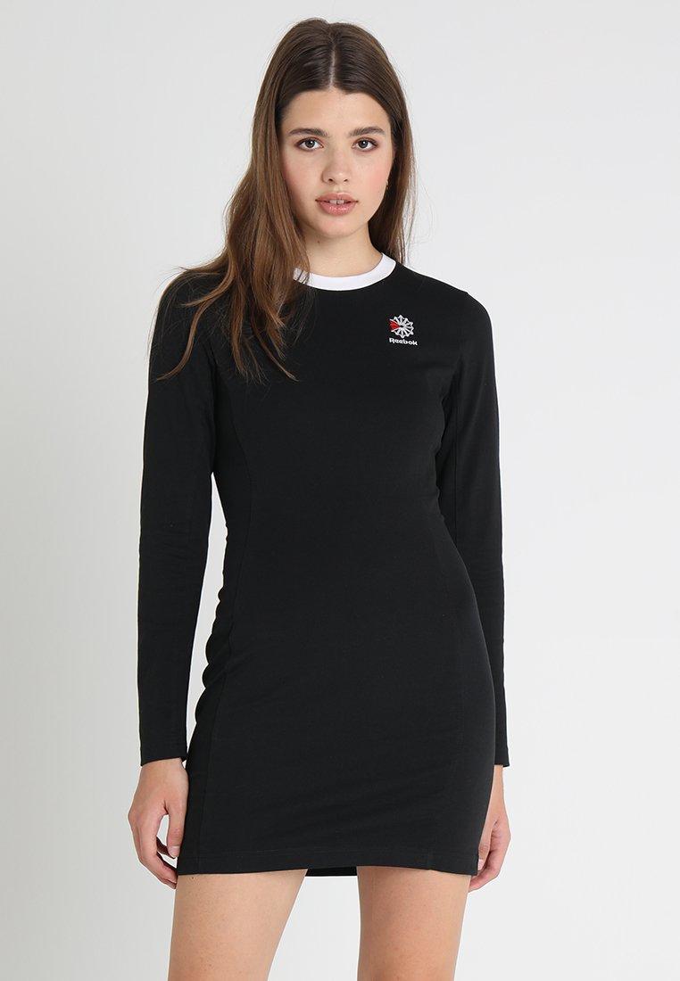 Reebok Classic - DRESS - Vestito di maglina - black
