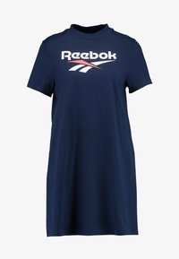 Reebok Classic - LOGO DRESS - Jersey dress - collegiate navy - 3