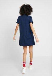 Reebok Classic - LOGO DRESS - Jersey dress - collegiate navy - 2
