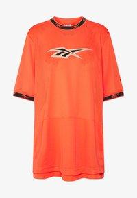 Reebok Classic - DRESS - Day dress - vivid orange - 4