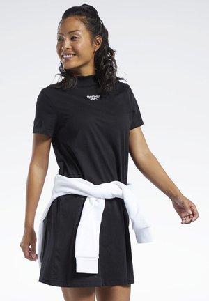 CLASSICS VECTOR - Jersey dress - black