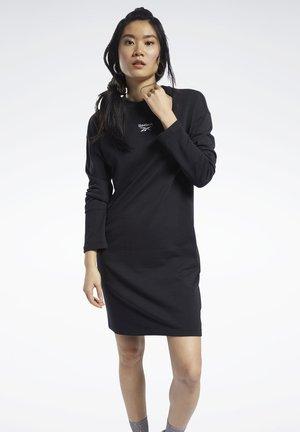 CLASSICS SMALL LOGO DRESS - Day dress - black