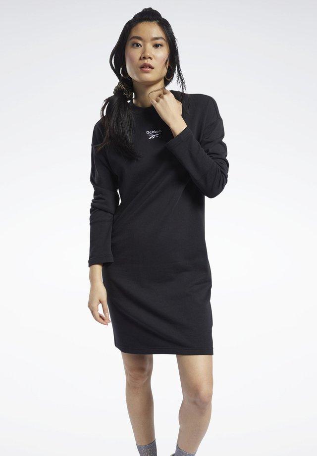 CLASSICS SMALL LOGO DRESS - Korte jurk - black