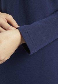 Reebok Classic - CLASSICS SMALL LOGO DRESS - Day dress - blue - 4