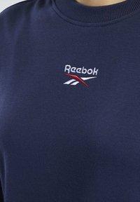 Reebok Classic - CLASSICS SMALL LOGO DRESS - Day dress - blue - 5