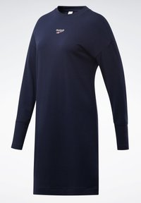 Reebok Classic - CLASSICS SMALL LOGO DRESS - Day dress - blue - 7