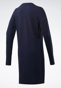 Reebok Classic - CLASSICS SMALL LOGO DRESS - Day dress - blue - 8
