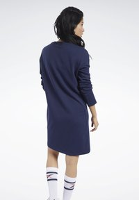 Reebok Classic - CLASSICS SMALL LOGO DRESS - Day dress - blue - 2
