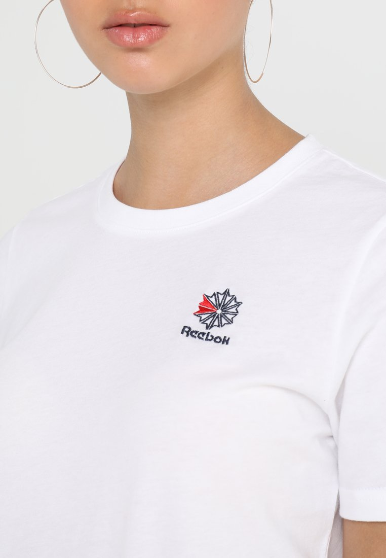Reebok Classic TEE - T-shirts med print - white