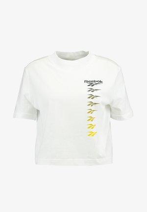 CROPEED TEE - T-Shirt print - white