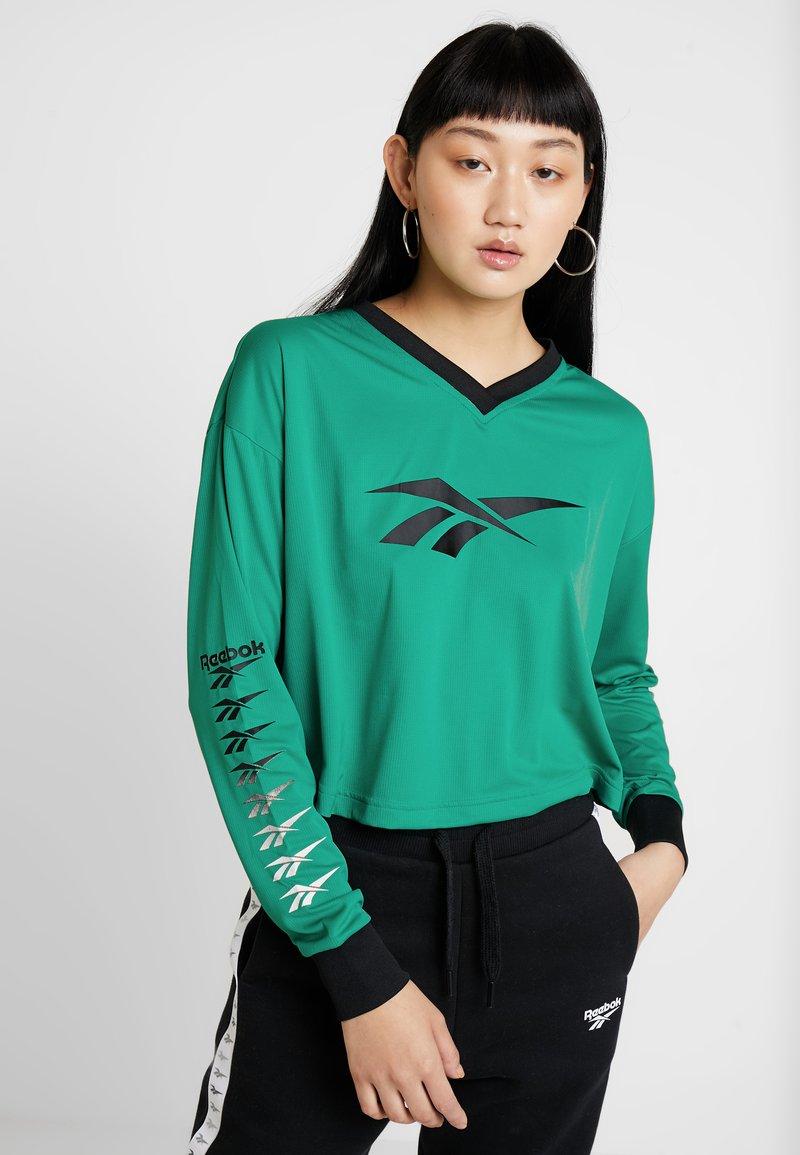Reebok Classic - CROPPED LONGLSEEVE - Camiseta de manga larga - emerald