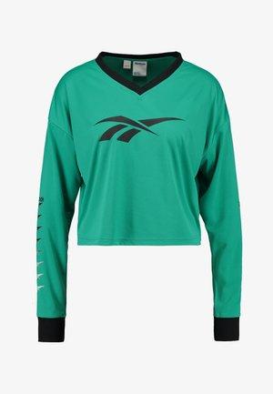CROPPED LONGLSEEVE - Longsleeve - emerald